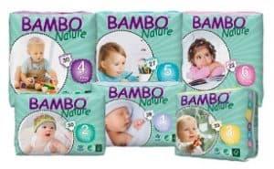 Bambo Nature Disposable Nappies
