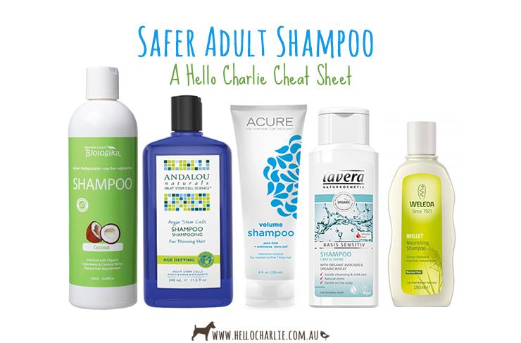 Safer Adult Shampoo