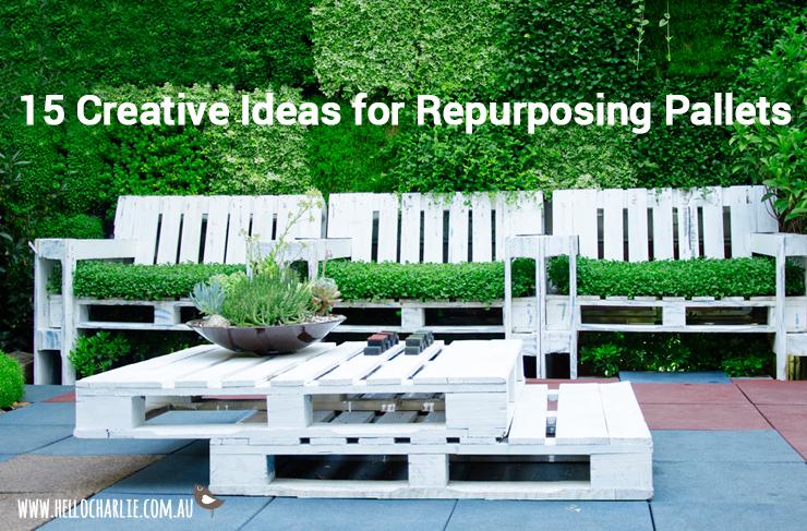 creative ideas for repurposing pallets