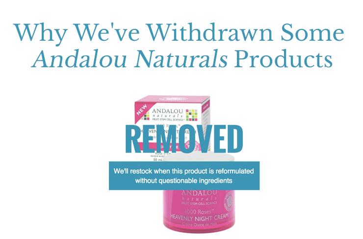 withdrawn andalou naturals