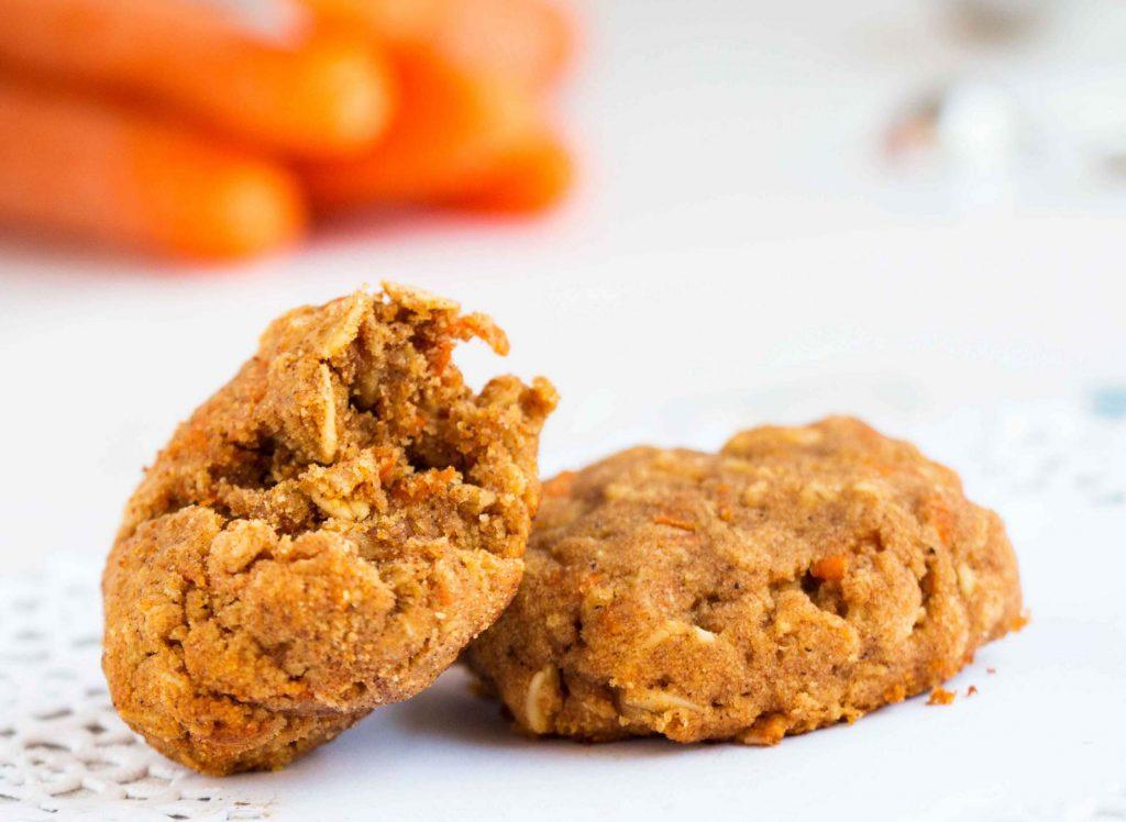 Healthy Cinammon Carrot Cookies