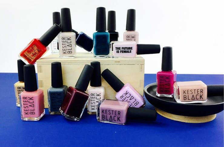 kester black non toxic nail polish