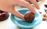 Cherry Pie Energy Balls