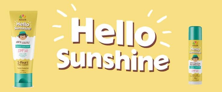 Hello Sunshine! 123 Nourish Me Sunscreen Review
