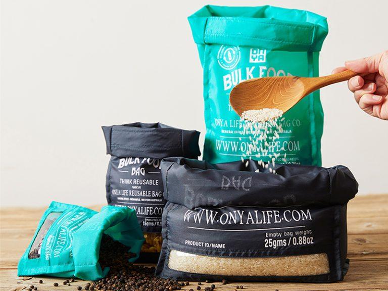 onya reusable bulk food bag