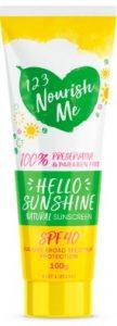 123 Nourish Me Hello Sunshine Sunscreen Sunscreen