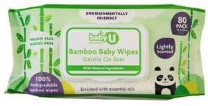 Baby U Bamboo Baby Wipes
