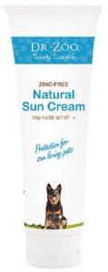 Dr Zoo Natural Zinc Free Pet Sunscreen