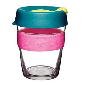 Keepcup brew glass reusable coffee cup 12oz medium atom