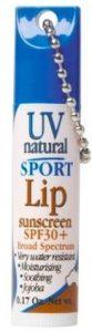UV Natural Lip Sunscreen Sport