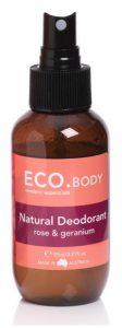 Eco. Rose & Geranium Deodorant