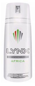 Lynx Africa Antiperspirant Deodorant