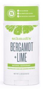 Schmidt's Natural Deodorant - Bergamot & Lime Stick