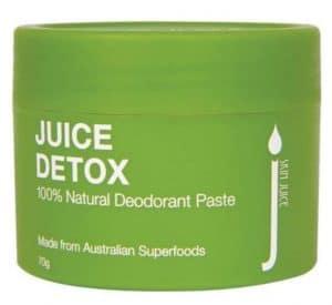 Skin Juice Juice Detox Natural Deodorant Paste