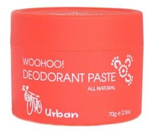 Woohoo Body! Natural Deodorant Paste - Urban