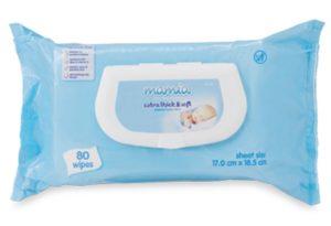 Aldi Mamia Fragrance Free Wipes