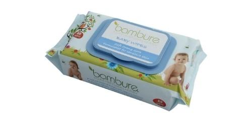 Bambure Natural Baby Wipes