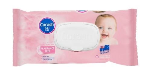 Curash Baby Wipes Fragrance Free