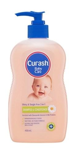 Curash Babycare 2 in 1 Shampoo and Conditioner