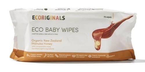 Ecoriginals Organic NZ Manuka Honey Baby Wipes