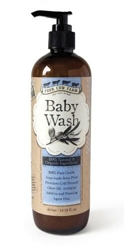 Four Cow Farm Pure Castile Soap Baby Wash