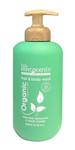 Little Innoscents Spearmint Orange Hair & Body Wash