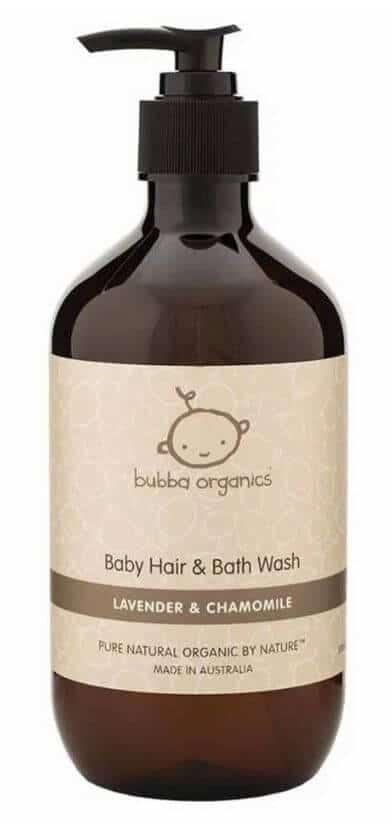 Bubba Organics Baby Hair & Body Wash Lavender