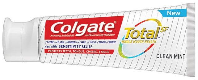 Colgate Fluoride Toothpaste Total