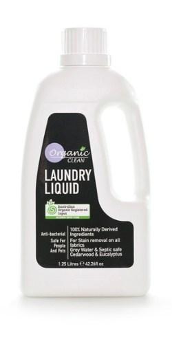 Organic Clean Laundry Liquid