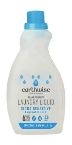 Earthwise Laundry Liquid – Fragrance Free