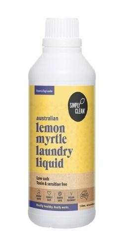 Simply Clean Lemon Myrtle Laundry Liquid