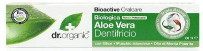 DR ORGANIC Toothpaste (Whitening) Organic Aloe Vera, 100ml